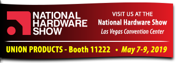 Visit us at the National Hardware Show